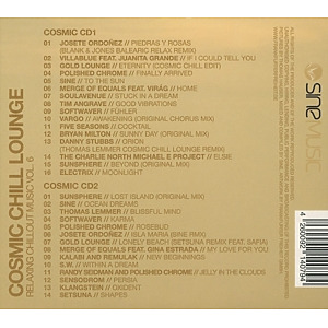 various - cosmic chill lounge vol.6 (Back)