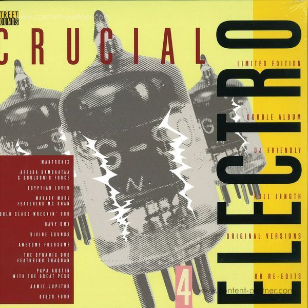 various - crucial electro 4