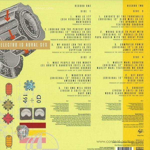 various - crucial electro 4 (Back)