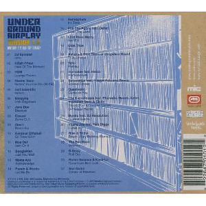 various - lyricist loungeunderground air (Back)