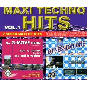 various - maxi techno hits vol. 1