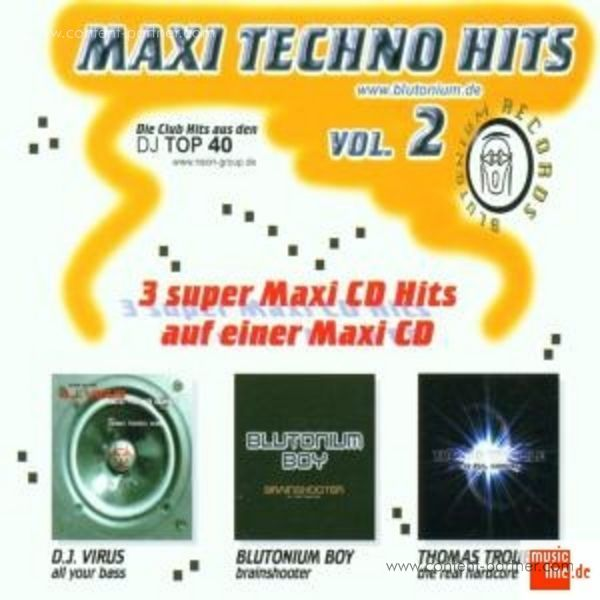 various - maxi techno hits vol. 2