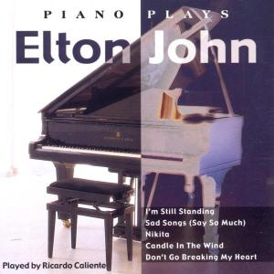 various - piano plays elton john