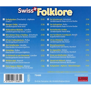 various - swiss folklore (Back)