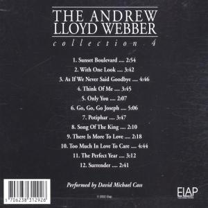 various - the andrew lloyd webber collec (Back)