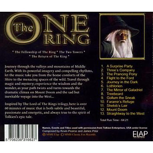 various - the lord of the rings (Back)