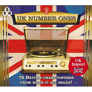 various - uk number ones-76 british charts toppers