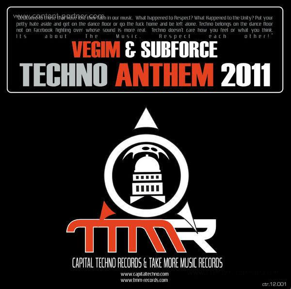 vegim & subforce - techno anthem 2011