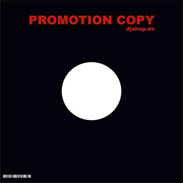 vinyl-cover - schwarz mit promo aufdruck