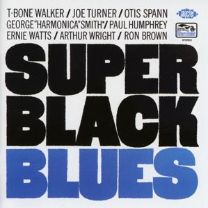 walker,t-bone/turner,joe/spann,otis - super black blues