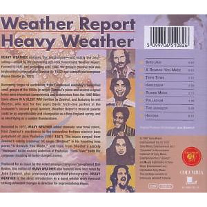 weather report - heavy weather (Back)