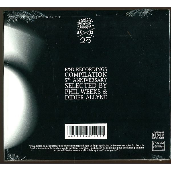 weeks,phil & allyne,didier present - p&d recordings 5th anniversary (Back)