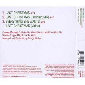 wham! - last christmas (Back)
