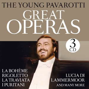 young pavarotti,the - great operas