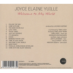 yuille,joyce elaine - welcome to my world (Back)
