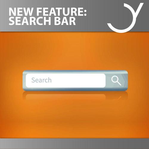 Feiyr Account: Neue Search Bar