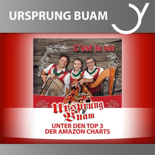 Ursprung Buam unter den Top 3 der Amazon Charts
