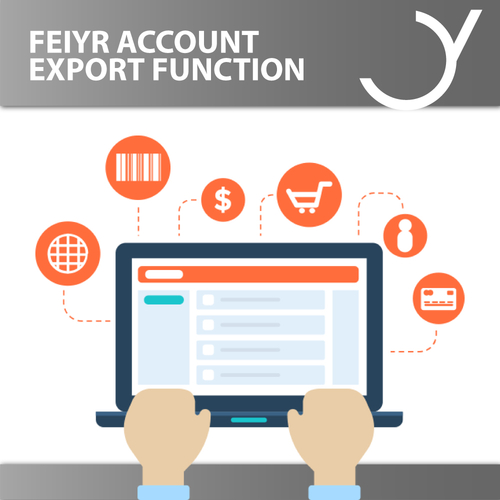 Feiyr Account: Export Funktion