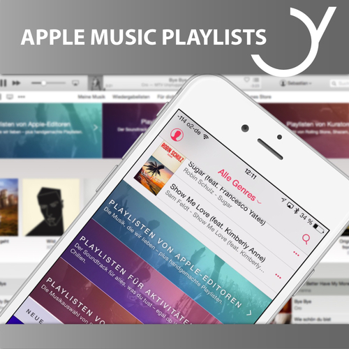 FEIYR ACCOUNT: APPLE MUSIC PLAYLISTS