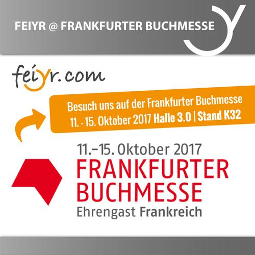 Frankfurter Buchmesse 2017 – Join Us! Stand K32 / Halle 3.0