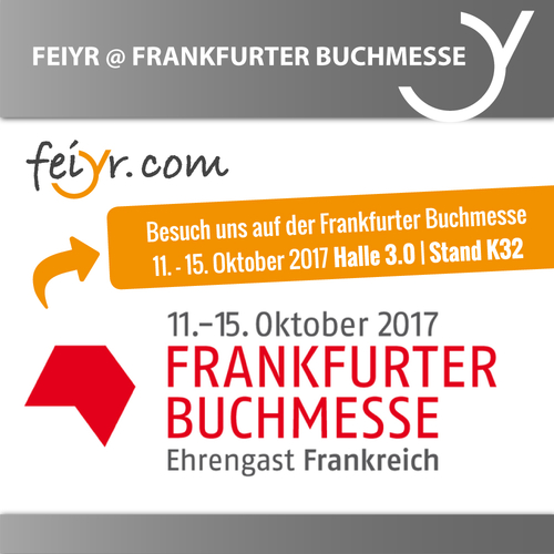 Frankfurter Buchmesse 2017 – Join Us! Booth K32 / Hall 3.0