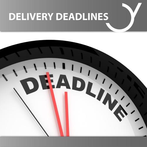 Deadlines Anlieferung eBooks, Hörbücher und Hörspiele
