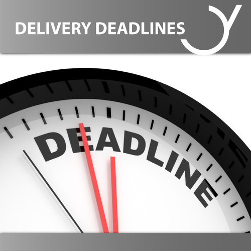 Delivery Deadlines eBooks, Audiobooks and Radio Plays
