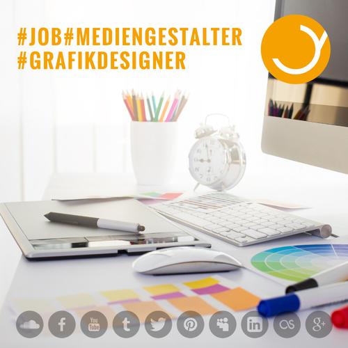 Gesucht wird Mediengestalter / Grafikdesigner (m/w)