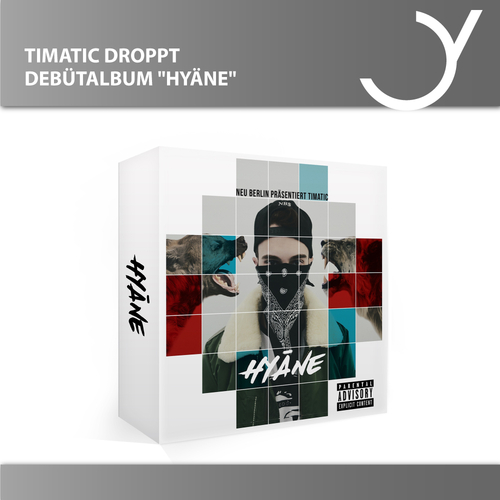 "Bester Battle-Rapper Timatic droppt Debüt-Album ""Hyäne"""