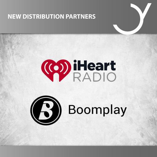 Neue Vertriebspartner: Boomplay & iHeart