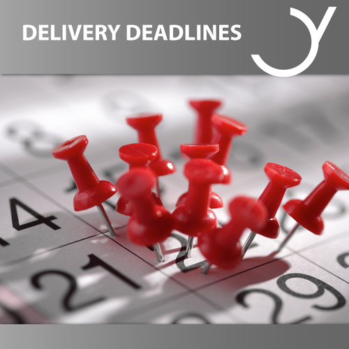 Delivery Deadlines Music 2019