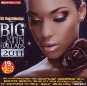 various - various - big latin ballads 2011