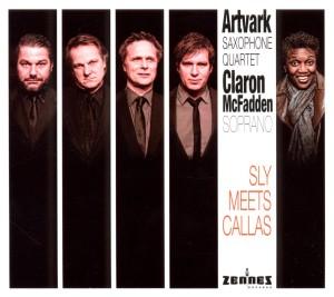 artvark saxophone quartet - sly meets callas