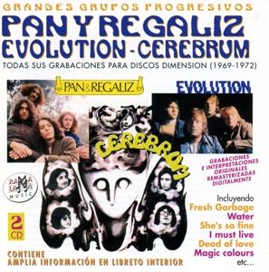 pan regaliz -evolution y cerebrum - todas sus grabaciones en discos dimensio