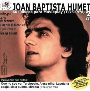joan baptista humet - joan baptista humet - sus discos para movieplay 1975-1978