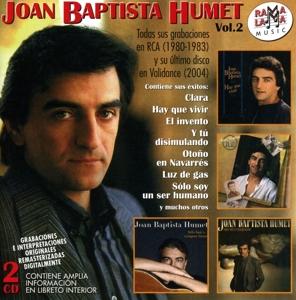 joan baptista humet - joan baptista humet - todas sus grabaciones en rca 1980-1983 y