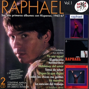 raphael - raphael - sus tres primeros albumes con hispavox 1