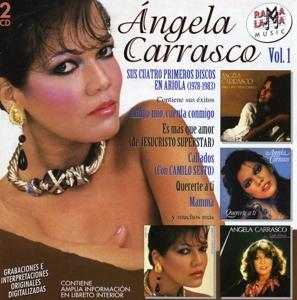 angela carrasco - sus cuatro primeros discos en ariola