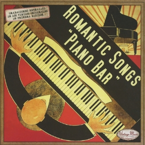 various - romantic songs piano bar