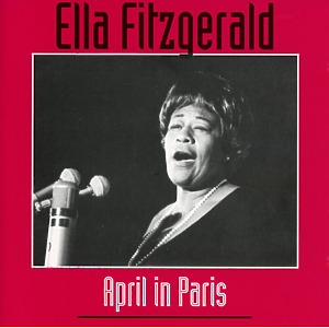 ella fitzgerald - april in paris
