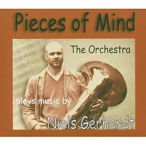 the orchestra plays music by niels gerha - pieces of mind
