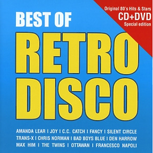various - best of retro disco cd + dvd