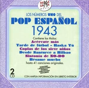 various - various - los numeros uno del pop espanol 1943
