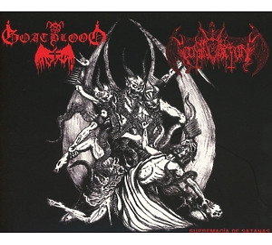 Goatblood/Nihil Domination - Supremacía de Satanas