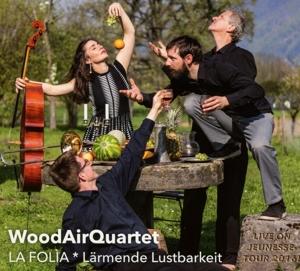 WoodAirQuartett - La Folia