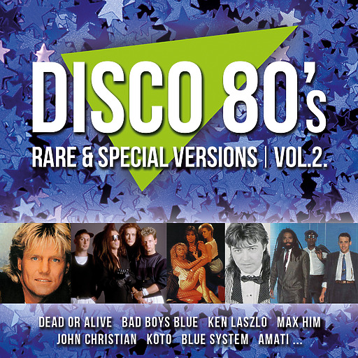 Various Artists - Disco 80s Rare & Special Versions, Vol. 2