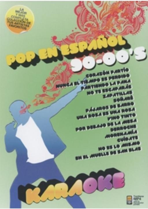 Various Artists - Karaoke Pop en Espanol 90-00's