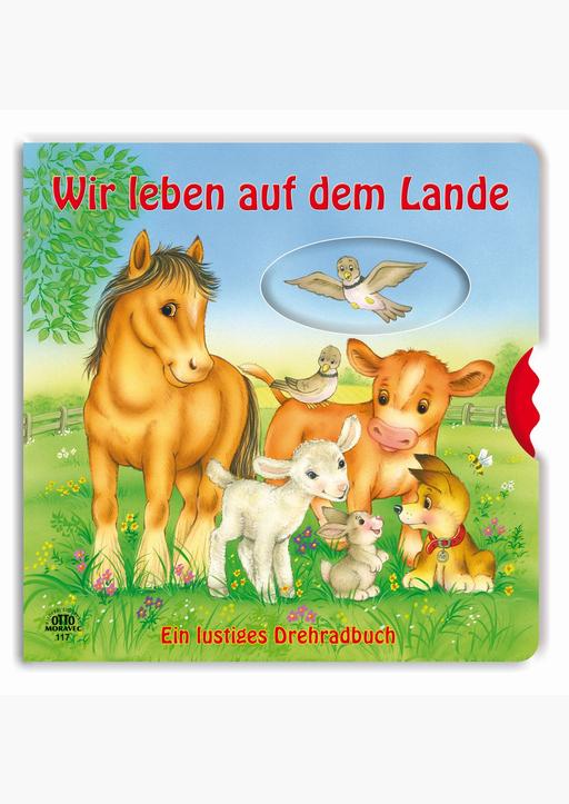 Bilderbuchverlag Otto Moravec - Bauernhof - Drehradbuch