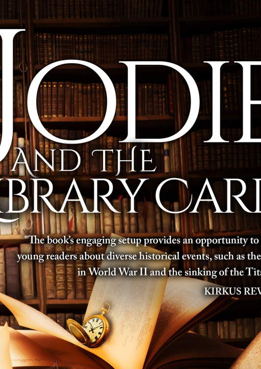 Julie Hodgson - Jodie and the library card