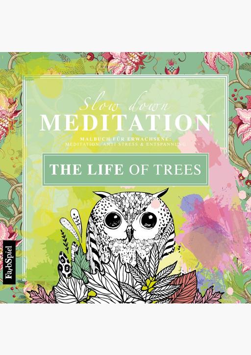 Lisa Wirth - Malbuch Erwachsene .. The Life of Trees